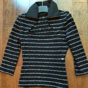 Rayure Paris ribbed Knit Blouse Size - Small